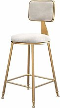 DNSJB bar stool Kitchen Chairs Metal Legs With