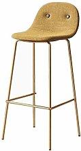 DNSJB bar stool With Backrest Barstools