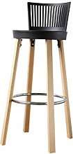 DNSJB bar stool Wooden Stools Bar Stools Bar
