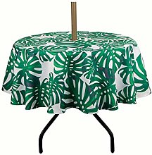 Do4U Waterproof Patio Outdoor Tablecloth With