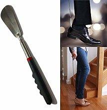 DOBO Extendable Shoe Horn 74 cm Length, Black