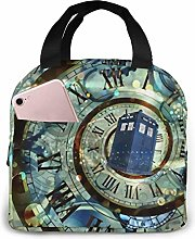 Doctor Dr Who Police Box Mice Lunch Bag for Women