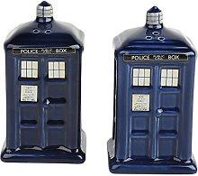 Doctor Who Salt & Pepper Shaker Spice Dispenser