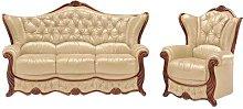 Dodgen 2 Piece Sofa Set Astoria Grand Colour: Beige