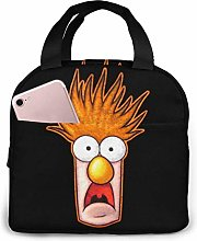 DODOD Beaker The Muppets Face Lnsulated Lunch Bag