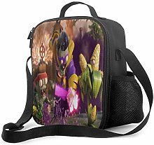 DODOD Plants vs Zombies Insulated Lunch Bag Tote