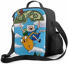 DODOD Portable Insulated Lunch Bag Adventure-time