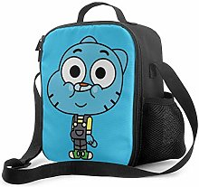 DODOD Portable Insulated Lunch Bag Amazing World