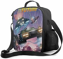 DODOD Portable Insulated Lunch Bag Back to The