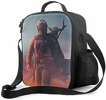 DODOD Star War Insulated Lunch Bag Tote Reusable