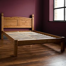 Dodson Low Foot End Bed Frame Union Rustic Size: