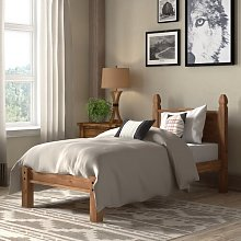 Dodson Low Foot End Bed Frame Union Rustic