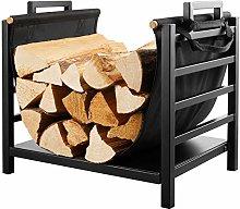 DOEWORKS 18 Inch Firewood Racks Fireplace Log