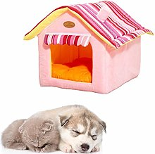 Dog Cave Bed Cat Cave Foldable Cat Bed Warm Dog