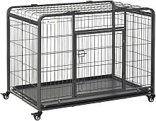 Dog Crate Foldable Puppy Kennel Cage Pet Playpen