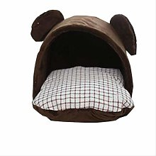 Dog House Dog Bed Foldable Cat House Small Pet Bed
