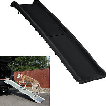 Dog Ramp for Car, Foldable, Anti-Slip Surface,