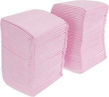 Dog training towels 40 units 60 x 60 cm pink -