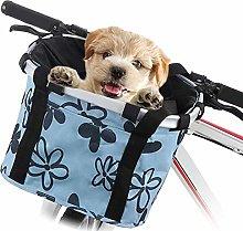 Dogs Carrier Bike Basket - 33x27x26cm Folding
