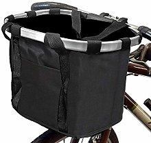 Dogs Carrier Bike Basket - Folding Removable Pet