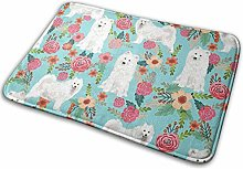 Dogs Floral Dog Insulated Cooler Thermal Entrance