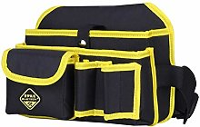 DOITOOL 1 Pcs Multi-Pocket Tool Bag for Men