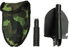 DOITOOL 1PCS Folding Shovel Military Survival