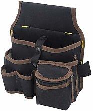 DOITOOL 1PCS Multi-Pocket Tool Pouch Bag for Men