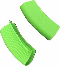 DOITOOL 2pcs Silicone Handle Holder Ear Shaped Hot