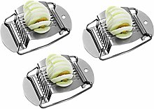 DOITOOL 3pcs Stainless Steel Wire Egg Slicers Eggs