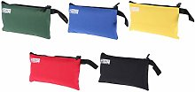 DOITOOL 5Pcs Zippered Tool Pouches Canvas