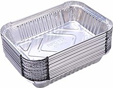 DOITOOL 60PCS Aluminum Foil Grill Drip Pans for
