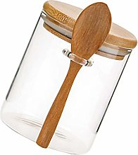 DOITOOL Clear Cereal Storage Container with Spoon