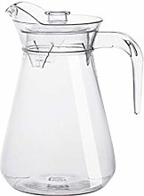 DOITOOL Clear Water Pitcher with Lid Handle