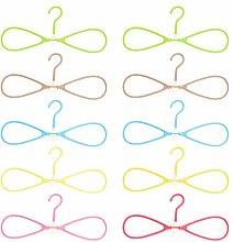 DOITOOL Clothers Hangers 10Pcs Rotary Hangers