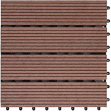 DOITOOL Floor Decking Tiles Water Resistant