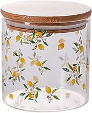 DOITOOL Glass Jar with Airtight Wood Lid Glass