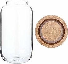 DOITOOL Glass Seasoning Jar Spice Bottle Spice