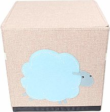DOITOOL Kids Toy Chest Collapsible Storage Trunk