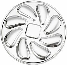 DOITOOL Oyster Plate Stainless Steel Oyster Shell
