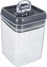 DOITOOL Plastic Cereal Storage Jar with Sealed Lid