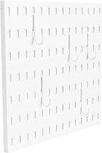 DOITOOL Plastic Pegboard Panels Wall Panel