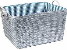 DOITOOL PP Straw Weaving Laundry Basket Handle
