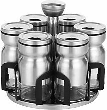 DOITOOL Revolving Countertop Spice Rack Herb and