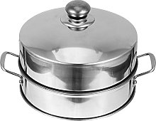 Doitool Stainless Steel Food Steamer with Cover