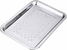 DOITOOL Stainless Steel Oven Pan Tray Barbecue