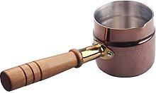 Doitool Turkish Coffee Warmer Milk Pan Mini