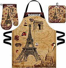 DOKKIA Womens Kitchen Chef Cooking Baking Paris