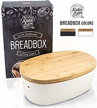 Dolce Mare® Bamboo Bread Bin - With Bamboo