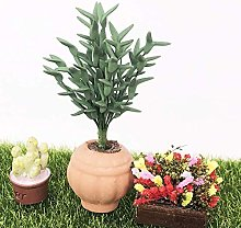 Dollhouse Bonsai, Miniature Plant, 1:12 Exquisite